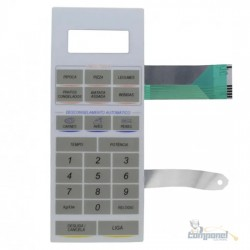 Membrana Teclado Microondas Continental DIGIT41